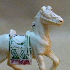 Figuras de Goma y PVC: FIGURA DE PLASTICO, MARAVILLOSO CABALLO, SERIE HUNOS, FABRICADO POR JECSAN, 1970S. Lote 23673891