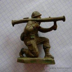 Figuras de Goma y PVC: FIGURA SOLDADO MARINE DE JECSAN EN GOMA. Lote 37043368
