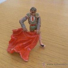 Figuras de Goma y PVC: TORERO EN GOMA MARCA JECSAN AÑOS 50. Lote 37266781
