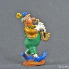 Figuras de Goma y PVC: FIGURA PAYASO SAXOFÓN EN BUEN ESTADO.. Lote 56464534