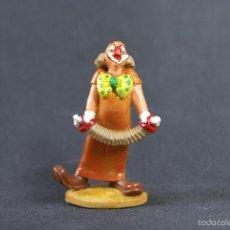 Figuras de Goma y PVC: FIGURA PAYASO DEL CIRCO CON ACORDEON, FIGURA PROMOCIONAL AÑOS 60. Lote 56897163