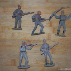 Figuras de Goma y PVC: SUDISTAS DE JECSAN PVC OESTE. Lote 60079635
