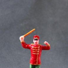 Figuras de Goma y PVC: FIGURA MUSICO DIRECTOR DE BANDA DEL CIRCO. Lote 75517403