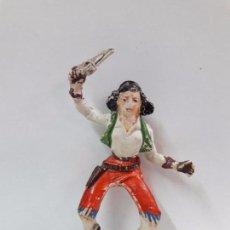 Figuras de Goma y PVC: AMAZONA PARA CABALLO . REALIZADA POR JECSAN . AÑOS 50 EN GOMA . Lote 91616900