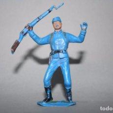 Figuras de Goma y PVC: JECSAN FIGURA SOLDADO DE LA UNION NORDISTA OESTE WESTERN. Lote 91843220