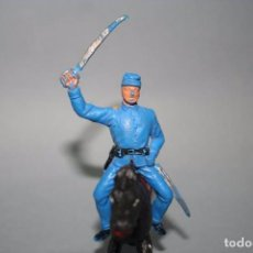 Figuras de Goma y PVC: JECSAN FIGURA SOLDADO DE LA UNION NORDISTA OESTE WESTERN. Lote 91843745