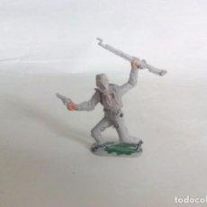 Figuras de Goma y PVC: FIGURA SOLDADO SUDISTA DOS BANDERAS JECSAN. Lote 95411899