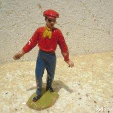Figuras de Goma y PVC: MONOSABIO DE LA PLAZA DE TOROS DE JECSAN. Lote 95672195