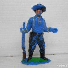 Figuras de Goma y PVC: 31. JECSAN SOLDADO SEPTIMO CABALLERIA CUSTER USA SOLDIER FIGURA FIGURE FEDERALES FEDERAL . Lote 95819711