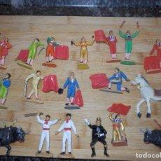 Figuras de Goma y PVC: TOREROS DE JECSAN EN PVC TOROS TAUROMAQUIA TORO. Lote 98049115