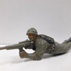 Figuras de Goma y PVC: SOLDADO AMERICANO . REALIZADO POR JECSAN . AÑOS 60. Lote 98798779