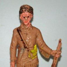Figuras de Goma y PVC: FIGURA PLASTICO PIONERO AMERICANO DANIEL BOONE. Lote 104139687