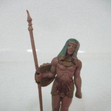 Figuras de Goma y PVC: FIGURA - SOLDADO EGIPCIO - EGIPTO - MARCA JECSAN - PLÁSTICO - ORIGINAL - AÑOS 60. Lote 105872243