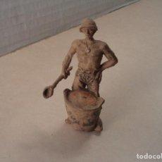Figuras de Goma y PVC: FIGURA DE GOMA PRISIONERO DE GUERRA JECSAN. Lote 109009347