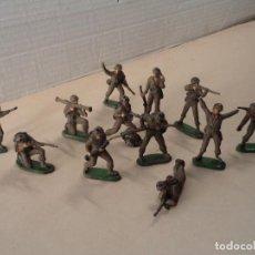 Figuras de Goma y PVC: 13 FIGURAS DE GOMA MARINES DE JECSAN - SERIE COMPLETA. Lote 109009675