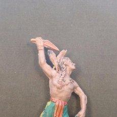 Figuras de Goma y PVC: JECSAN INDIO GOMA. Lote 109041375