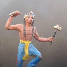 Figuras de Goma y PVC: JECSAN INDIO GOMA FIGURA 2. Lote 109041547