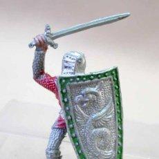 Figuras de Goma y PVC: FIGURA MEDIEVAL EN PLASTICO LAFREDO SERIE REY ARTURO NO ARCLA. Lote 12498671