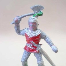 Figuras de Goma y PVC: FIGURA MEDIEVAL EN PLASTICO LAFREDO SERIE REY ARTURO NO ARCLA. Lote 21586069