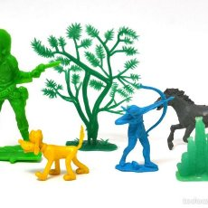 Figuras de Goma y PVC: LOTE DE LAFREDO, REAMSA / GOMARSA, DUBKIN, COMANSI, SIN PINTAR, CIRCA 1980. Lote 51849695