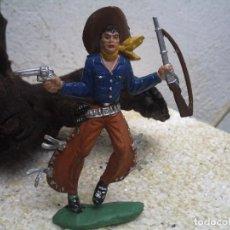 Figuras de Goma y PVC: VAQUERO DE LAFREDO DE LOS GRANDES. Lote 98156511