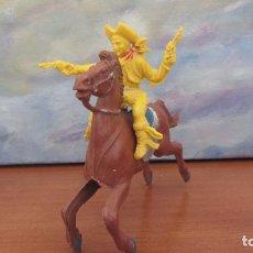 Figuras de Goma y PVC: EMIROBER-LAFREDO-VAQUERO Y CABALLO. Lote 108444019