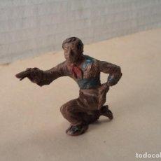 Figuras de Goma y PVC: FIGURA DE GOMA VAQUERO LAFREDO. Lote 109011003