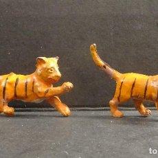 Figuras de Goma y PVC: LAFREDO ANIMALES DE LA SELVA CRIAS DE TIGRE GOMA. Lote 109038715