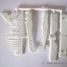 Figuras de Goma y PVC: FOTOKEKI - MONTAPLEX - AVION FOKKER SERIE 600 Nº 601 COLOR BLANCO IDEAL PINTAR-AÑOS 70-MADE IN SPAIN. Lote 110162071
