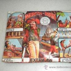 Figuras de Goma y PVC: MONTA-MAN. Lote 25663062