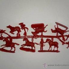Figuras de Goma y PVC: MONTAPLEX 1 COLADA DE CABALLERÍA DE NAPOLEÓN DEL SOBRE Nº 141 - COLOR ROJO. Lote 74310037