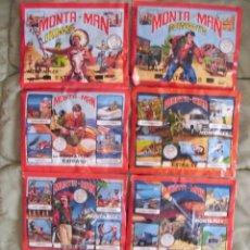 Figuras de Goma y PVC: LOTE MONTAMAN DE MONTAPLEX. Lote 43973242
