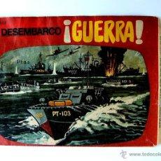 Figuras de Goma y PVC: SOBRE MONTAPLEX Nº 1023 - DESEMBARCO ¡GUERRA! - CON EL Nº IMPRESO NO HOBBY PLAST - DIFICIL. Lote 44257834