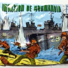 Figuras de Goma y PVC: SOBRE MONTAPLEX - HOBBY PLAST Nº 1004/C INVASIÓN DE NORMANDIA - CON EL NÚMERO IMPRESO!!! - CERRADO. Lote 72449738