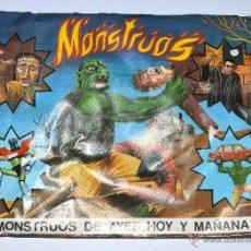 Figuras de Goma y PVC: SOBRE MONTAPLEX - MONSTRUOS DE AYER HOY Y MAÑANA - NUEVO CERRADO - MAYALS - DIFICIL. Lote 72730439