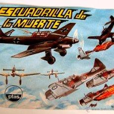 Figuras de Goma y PVC: SOBRE MONTAPLEX - HOBBY PLAST Nº 1014 - ESCUADRILLA DE LA MUERTE - IMPECABLE CERRADO - DIFICIL. Lote 72730145
