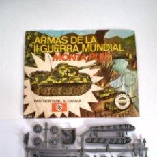 Figuras de Goma y PVC: MONTAPLEX SOBRE Nº420 VACIO + 1 COLADA DEL TANQUE PANTHER EN COLOR GRIS - KIOSKO AÑOS 70´S. Lote 74139325