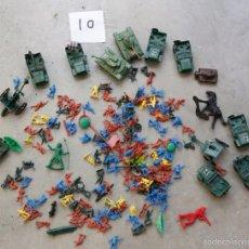 Figuras de Goma y PVC: LOTE DE FIGURAS Y TANQUES DE PLASTICO. Lote 58769106