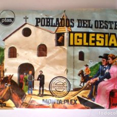Figuras de Goma y PVC: SOBRE MONTAPLEX Nº 457 POBLADOS DEL OESTE IGLESIA - SOBRE CERRADO. Lote 62674460