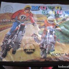 Figuras de Goma y PVC: MONTAPLEX-SOBRE CERRADO MOTO CROS- NUMERO 225-RARO!!. Lote 63377108