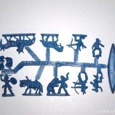 Figuras de Goma y PVC: MONTAPLEX 1 COLADA DE DAVY CROKCETT DEL SOBRE Nº 228 - COLOR AZUL. Lote 67446649
