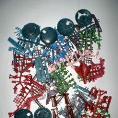 Figuras de Goma y PVC: MONTAPLEX - LOTE RESTOS DE COLADAS - KIOSKO AÑOS 70´S. Lote 68122081