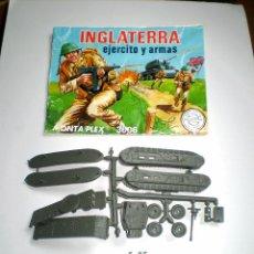 Figuras de Goma y PVC: LOTE MONTAPLEX - SOBRE Nº 3006 INGLATERRA VACÍO CON SU CONTENIDO ORIGINAL. Lote 74165015