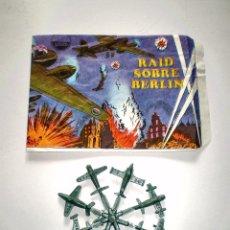 Figuras de Goma y PVC: SOBRE MONTAPLEX - HOBBY PLAST Nº 1001/C - RAID SOBRE BERLIN - VACÍO + COLADA DE MIN IAVIONES. Lote 75044775