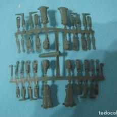 Figuras de Goma y PVC: MONTAPLEX- COLADA CURIOSA COMPLETA FABRICADA POR EJUSA DE INDIO Y PINOCHO-AÑOS 70-80. Lote 80314845