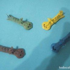 Figuras de Goma y PVC: MONTAPLEX- 4 SUBMARINOS SIUM 125-MONTADOS- AZUL, AMARILLO,VERDE, MARRON-AÑOS 70-80. Lote 80316533