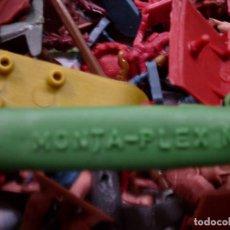 Figuras de Goma y PVC: GRAN LOTE MONTAPLEX Y VARIOS, FIGURAS - AVIONES - TANQUES - ETC....... Lote 80789550