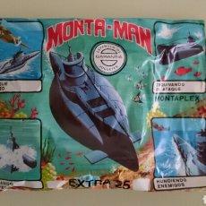 Figuras de Goma y PVC: SOBRE MONTAPLEX, MONTAMAN . Lote 98108938