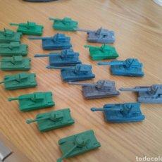 Figuras de Goma y PVC: LOTE TANQUES MONTAPLEX. Lote 100617082