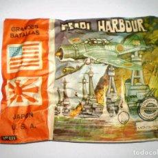 Figuras de Goma y PVC: SOBRE MONTAPLEX Nº 133 PEARL HARBOUR - SOBRE CERRADO - NUMERADO. Lote 101403247